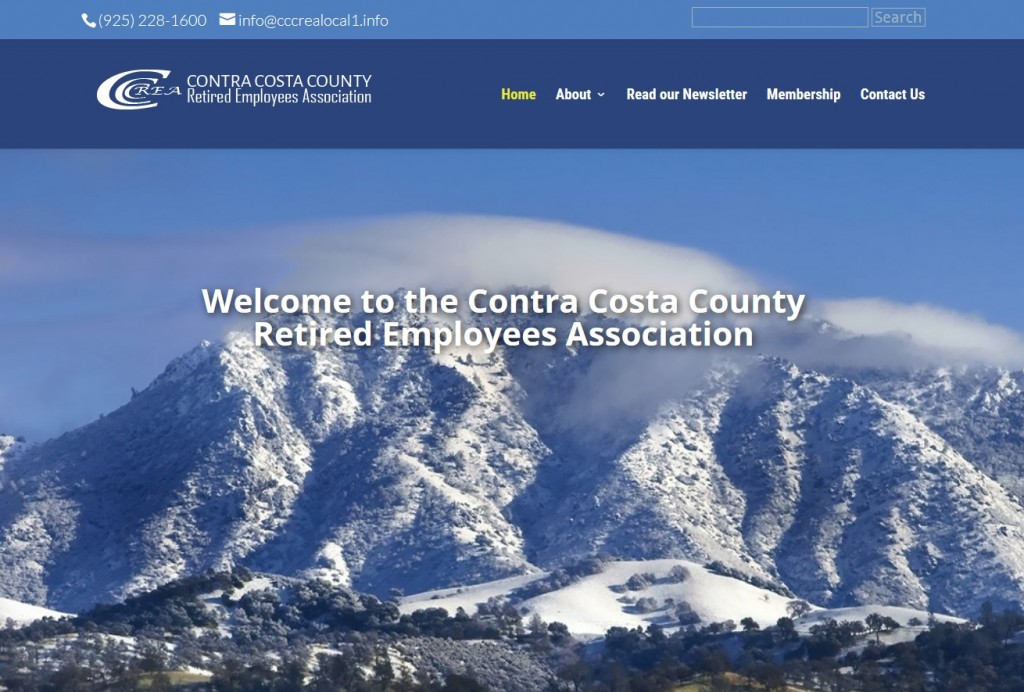 County Employee Retiree Site